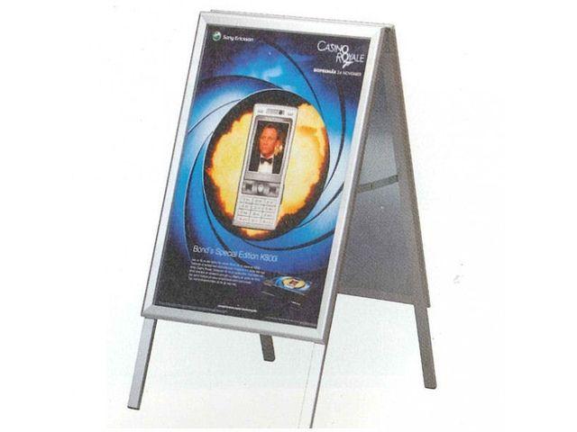 Panneau publicit aluminium contact pro signalisation for Pancarte exterieure publicitaire
