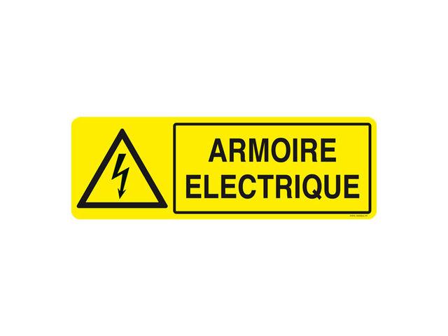 Panneau Pvc Armoire Electrique Contact Signals