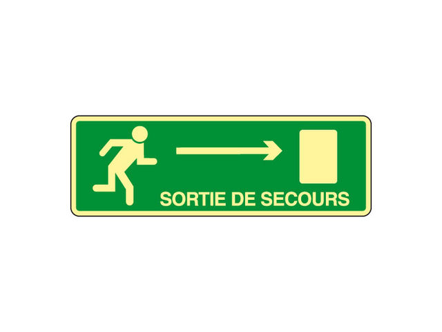 Panneau Pvc Porte De Secours Droite Contact Signals