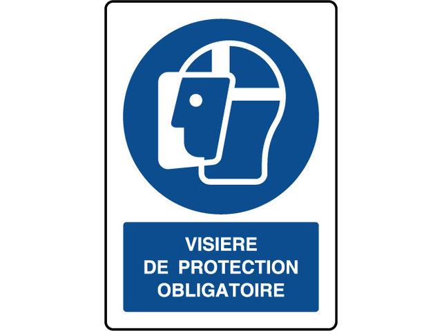 panneau vertical visi re de protection obligatoire. Black Bedroom Furniture Sets. Home Design Ideas