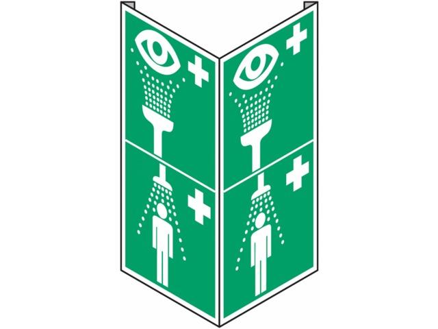 Panneaux d 39 vacuation combin s equipement de rin age des for Equipement douche