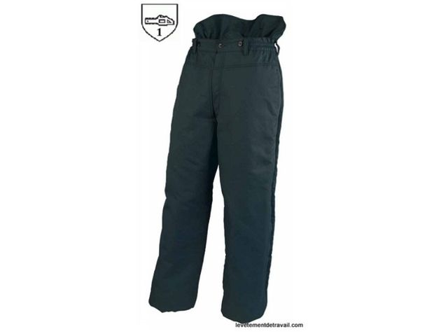 Pantalon bucheron anti coupure contact fb protection - Pantalon de bucheron ...