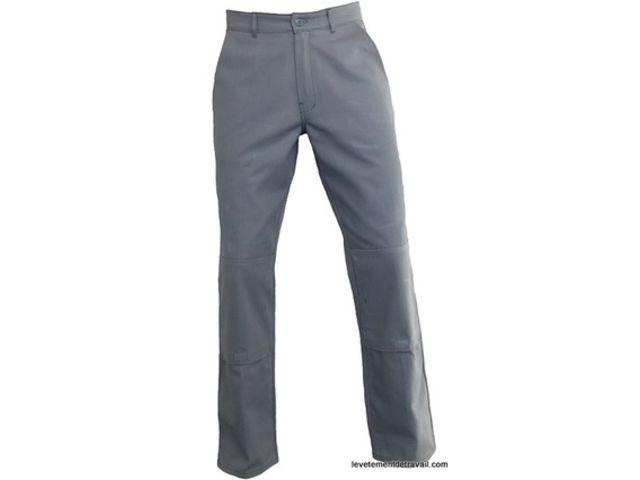 3448b11a909 Pantalon de travail coton poches genoux TYPHON
