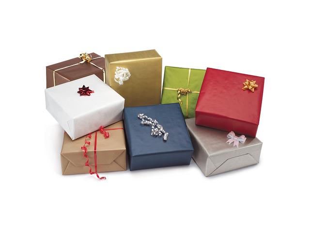 Papier cadeau kraft couleur contact raja - Papier cadeau kraft ...