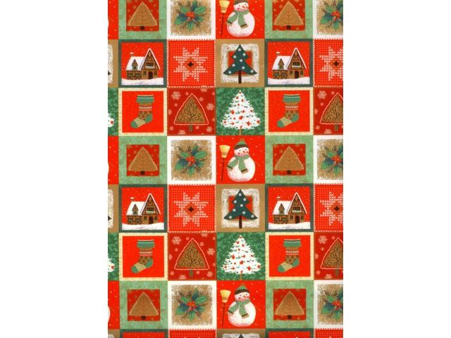 Papier Cadeau Noël Contact Paper Team
