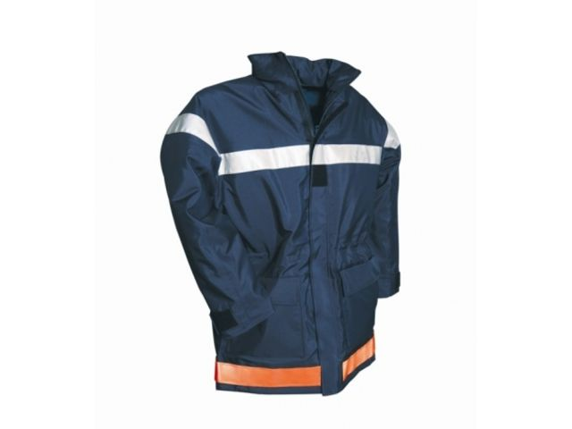 Parka marine imper-respirant sapeurs-pompiers_VETEMENTS PROTECTION SECURITE