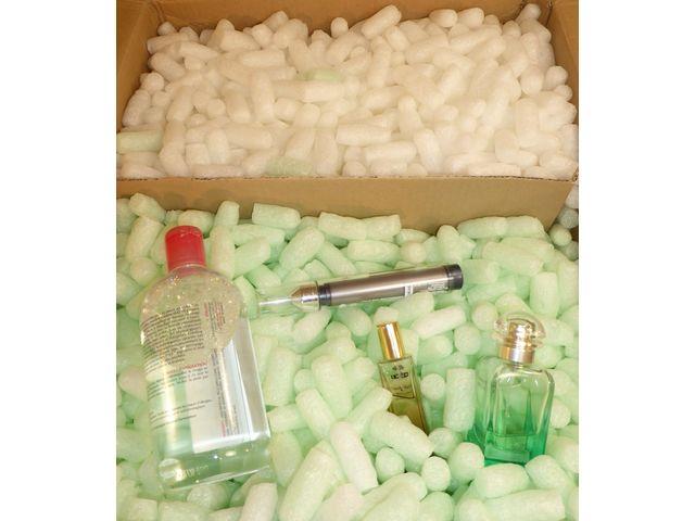 Particules de calage emballage chips biod gradable eco for Particule de calage