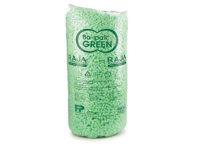Particules de calage en sac flo pak green contact raja for Particule de calage