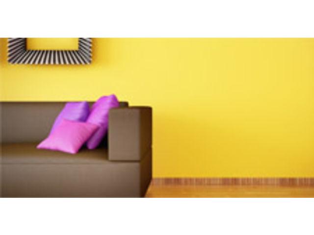Peinture Acrylique Mono Couche Spéciale Toile De Verre En Phase Aqueuse,  Aspect Satiné Léger
