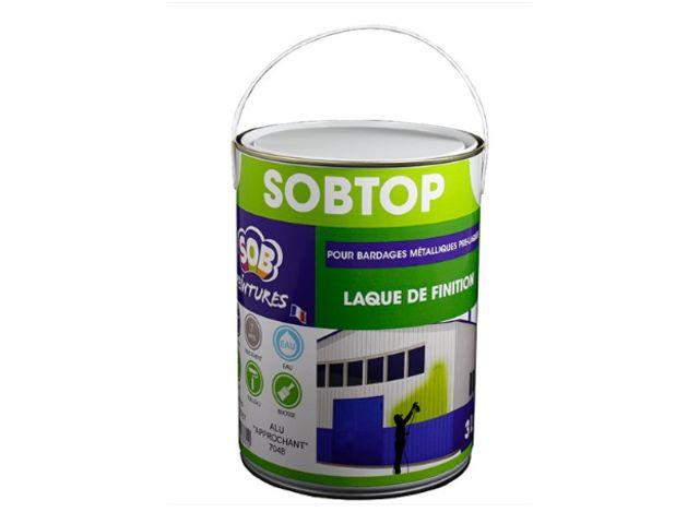 Peinture acrylique monocomposant pour rénovation de bardages pré-laqués : SOBTOP | Contact SOB ...