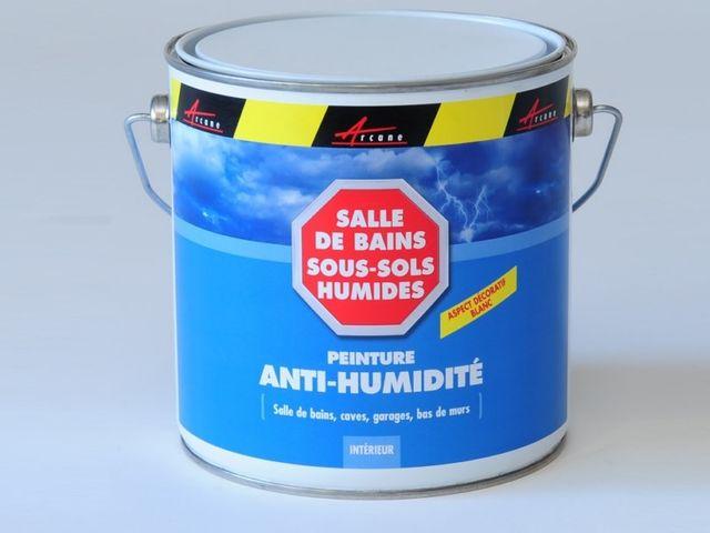 Peinture anti moisissure anti humidit murs humides - Produit anti moisissure mur ...