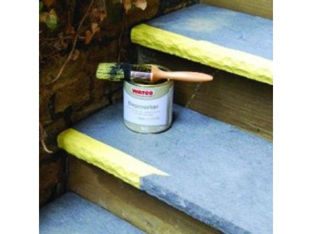 Peinture antid rapante antiglisse sp cial marche for Peinture pour sol en bois