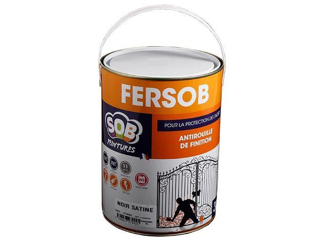 Peinture antirouille 2 en 1 ( primaire et finition) - FERSOB | Contact PEINTURES SOB