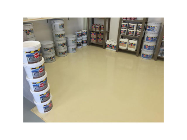 Peinture epoxy garage sol atelier local commercial magasin - REVEPOXY GARAGE