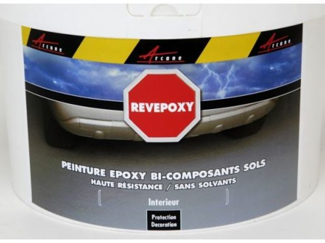 Peinture epoxy rev tement sol citerne cuve contact arcane industries - Peinture sol epoxy ...