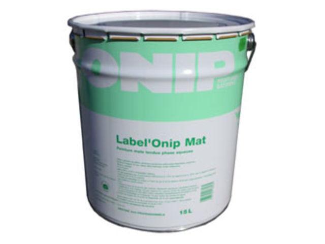 Peinture murs et plafonds label 39 onip mat contact for Peinture mat plafond