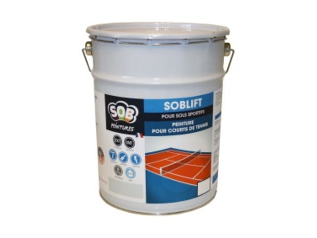 Peinture pour courts de tennis- SOBLIFT | Contact SOB SOLUTIONS