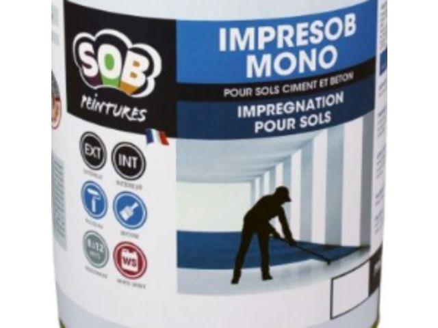 Peinture pour sols bétons IMPRESOB MONO | Contact SOB SOLUTIONS