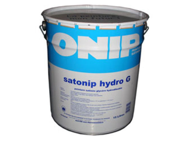 Peinture satin e satonip hydro g contact peintures onip for Peinture satinee