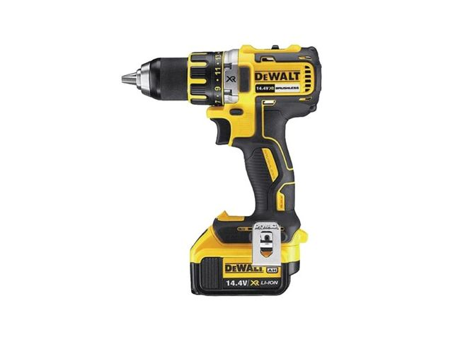 perceuse visseuse dewalt 13mm xrp 14 4 volts 4ah li ion moteur brushless sans charbon. Black Bedroom Furniture Sets. Home Design Ideas