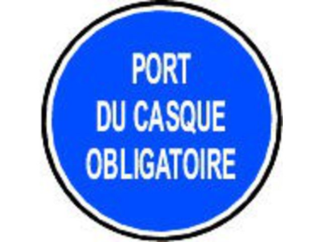 Pictogramme port du casque obligatoire texte - Pictogramme port du masque obligatoire ...