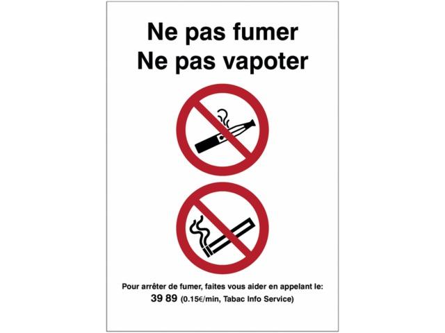 pictogrammes combin s d 39 interdiction de vapoter et de fumer avec texte contact seton. Black Bedroom Furniture Sets. Home Design Ideas