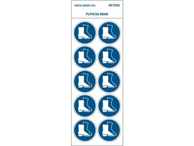 En Xs4q1 7010 Planche Chaussures Pictogrammes De Sécurité Nf Iso 1ffZvqxwnB