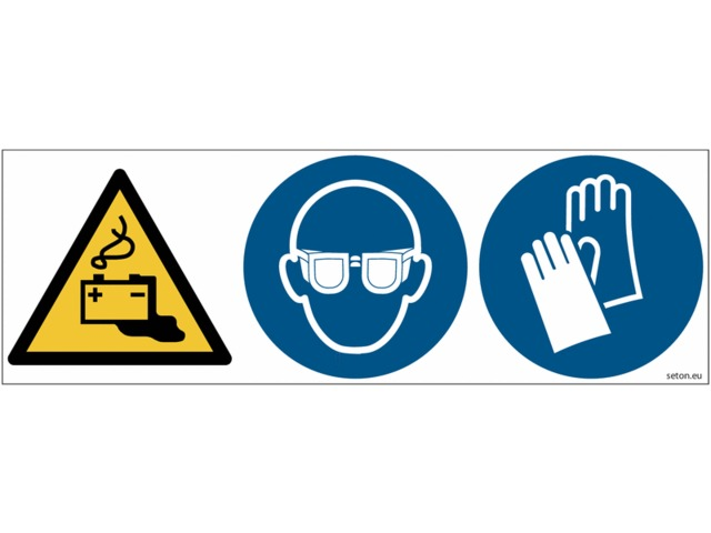 6631b7929f0a4 Pictogrammes ISO 7010 Lunettes   Gants