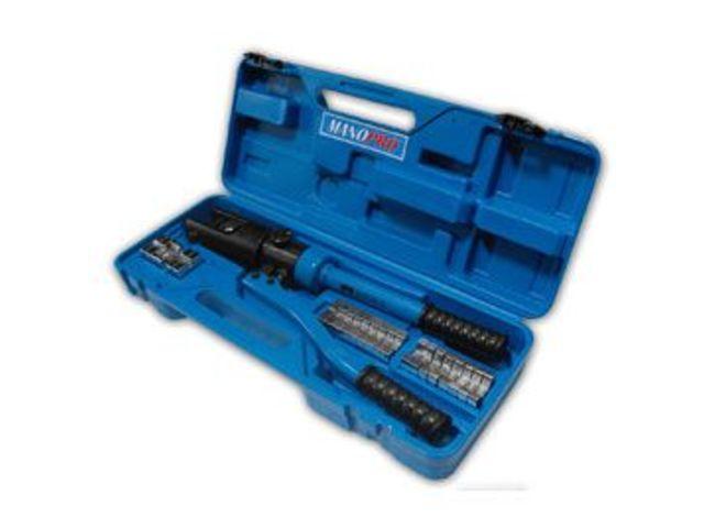 Pince de sertissage hydraulique pour cosses de 6 300mm2 manopro 7310 co - Pince a sertir cosse electrique ...