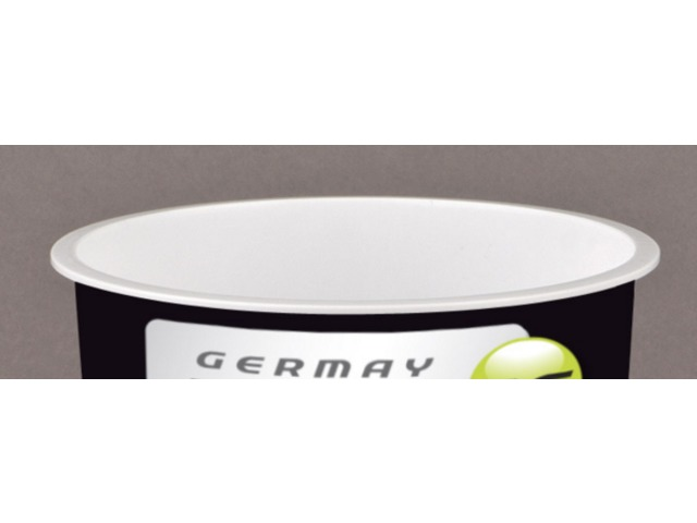 PLA 1052 - Pot 620 ml à fond plat - GERMAY PLAST'IC