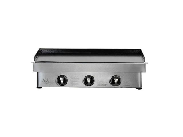 plancha 3 feux inox brixton firefriend plaque en fonte. Black Bedroom Furniture Sets. Home Design Ideas