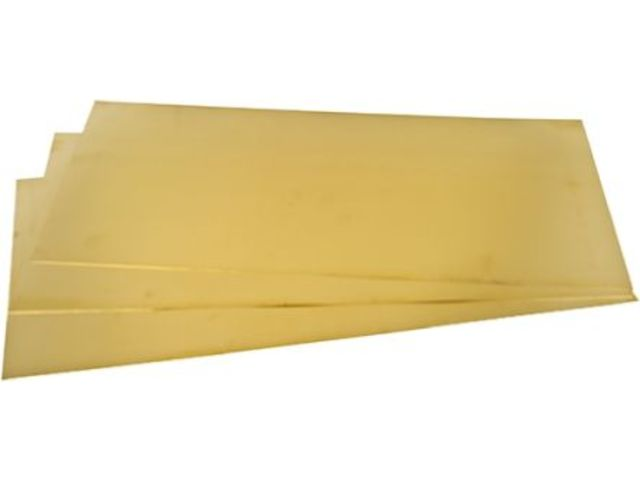 feuille de laiton