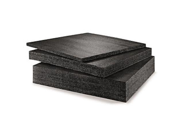 plaque mousse poly thyl ne noire haute densit contact raja. Black Bedroom Furniture Sets. Home Design Ideas