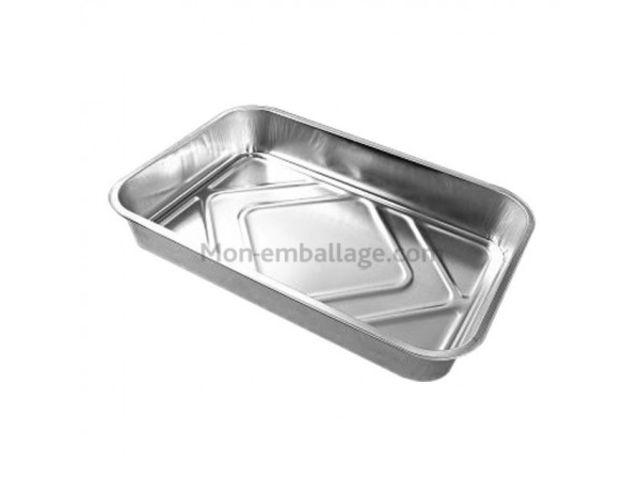 Plat aluminium 2 kg euro 2000 a1669 par 100 contact - Plat aluminium jetable ...