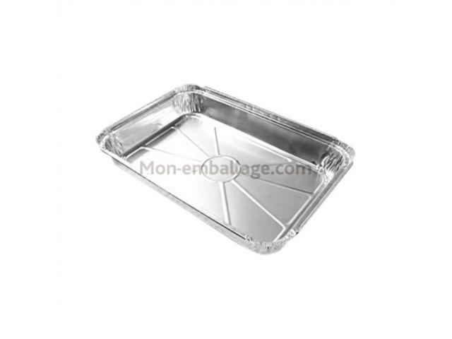 Plat aluminium fermable 2 kg a2538 par 25 contact mon emballage - Plat aluminium jetable ...