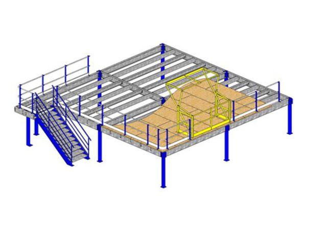 Plateforme mezzanine contact dem movers for Plateforme mezzanine en kit