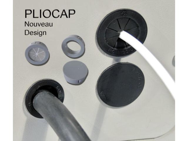 Pliocap nouveau design de passe fils m triques - Passe cable mural pour tv ...