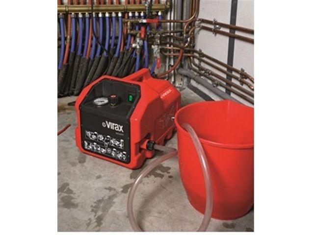 Pompe d preuve lectrique virax 6 litres min 40 bars - Pompe a epreuve ...