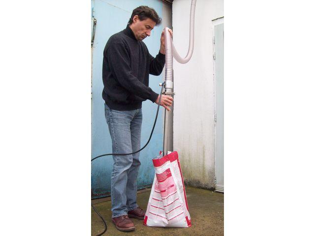 Remplissage Des Sacs : Pompe vide sac pneumatique pour le remplissage de tr?mie