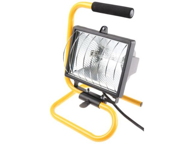 Portable Halogen Floodlight 500w Uk Plug