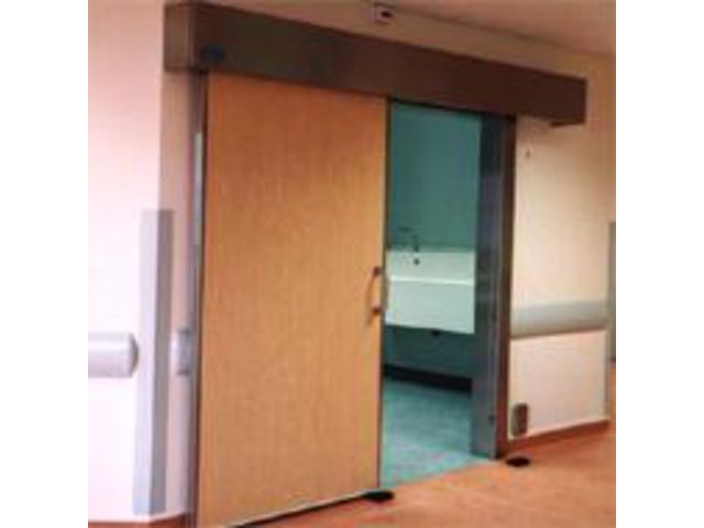 Porte automatique coulissante tanche ops contact portalp france - Porte automatique portalp ...