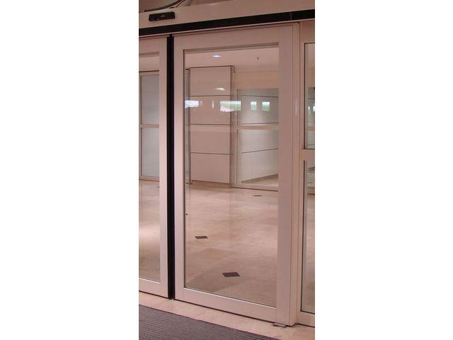Porte automatique coupe feu ei60 das contact ateliers for Pv coupe feu porte