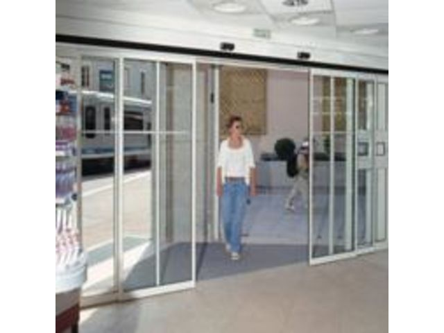 Porte automatique t lescopique diva contact portalp france - Porte automatique portalp ...