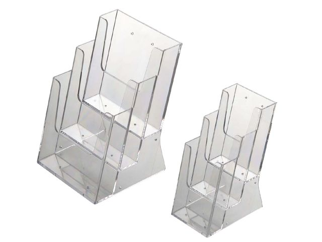 porte brochures de table multi compartiments 1209 contact expomobile. Black Bedroom Furniture Sets. Home Design Ideas