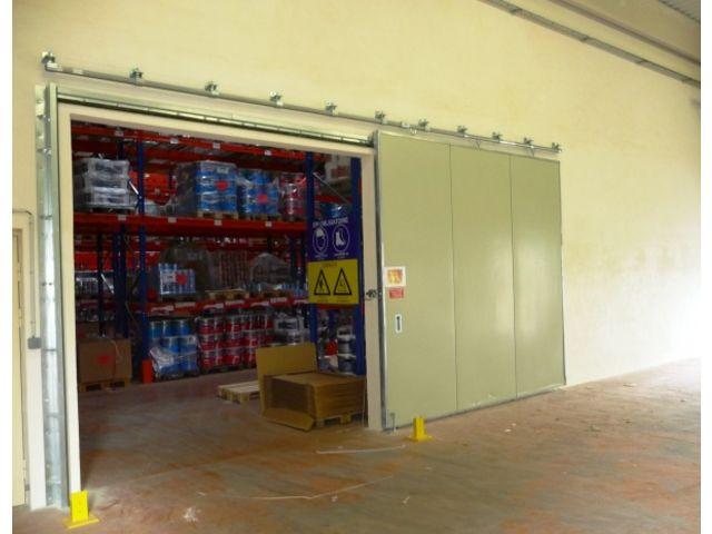Porte de s curit pour commerce fournisseurs industriels - Porte coupe feu coulissante automatique ...