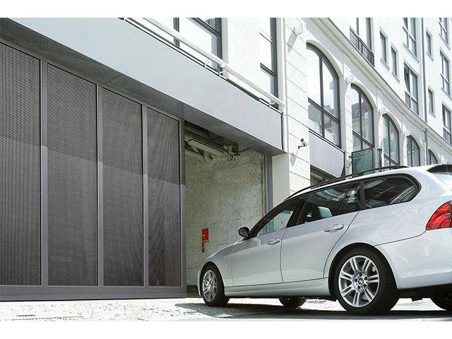 Porte Coulissante Pour Garage Collectif ST Contact HORMANN - Porte coulissante garage