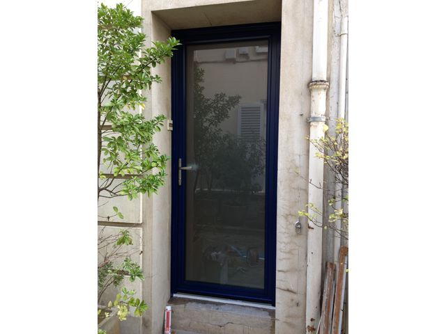 Porte D 39 Entr E Contact Pro Tech Fermeture