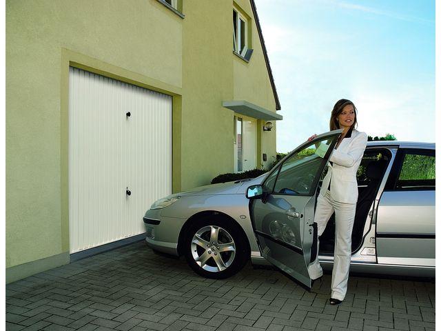 Porte de garage basculante non d bordante sans rail g97 contact hormann - Porte de garage basculante non debordante tubauto ...