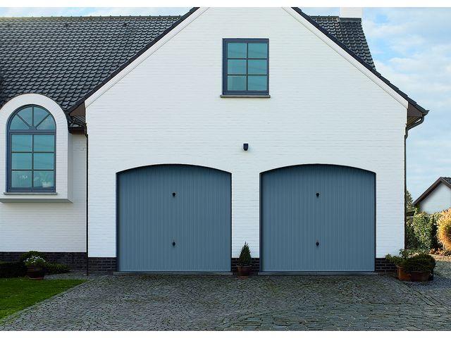 Porte de garage basculante non d bordante sans rail g97 contact hormann - Porte de garage basculante debordante ...