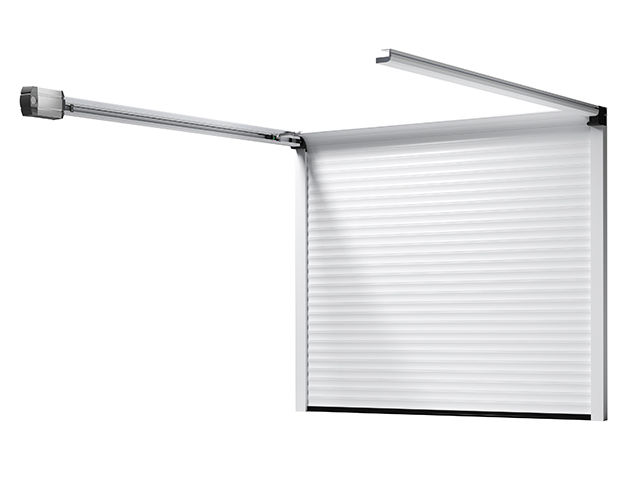 Porte de garage enroulable refoulement sous plafond for Porte de garage enroulable hormann prix